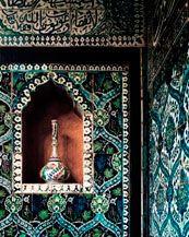 Blue Arabian niche