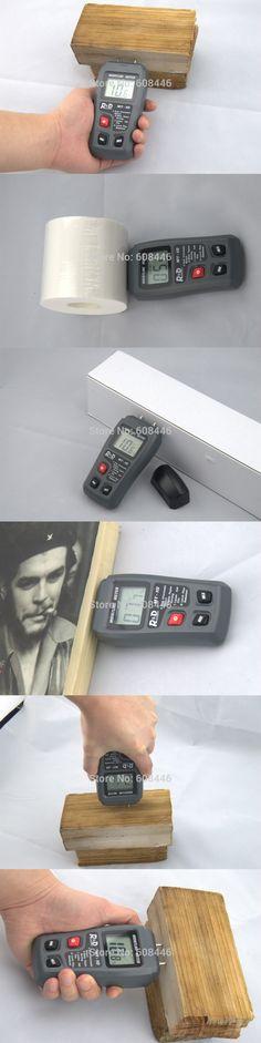 Hygrometers Hot wood paper cardboard moisture meter tester Range:0~99.9% humidity