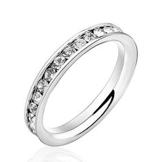 Simple and Beautiful Eternity Ring