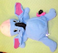 Disney EEYORE Plush PILLOW Plush Stuffed Animal Mattel Fisher Price 27