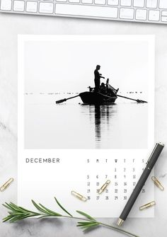 Wall Calendar Design, Diy Calendar, Photo Calendar, Print Calendar, 2021 Calendar, Monochrome Photography, Black And White Photography, Minimal Calendar, Cool Calendars