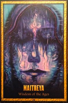 Today's Angel Card Message  Message from Maitreya:  Maitreya ~ Wisdom of the Ages:  You have been on the Earth Many times before and you shall return many times to come. From each lifetime you keep the most precious experiences, the ones that have made you the beautiful soul you are.  You have witnessed humanity's unfolding and have experienced all there is.   Read more: http://www.online-tarot-readings-by-amber.info/angel.html
