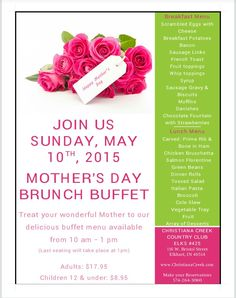 Made A Mothers Day Flyer For A Client. Turn Your Information Into An Eye  Pleasing