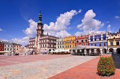 Zamosc - Great Market Square by Qba from Poland, via Flickr