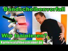 Bandscheibenvorfall! 6 Übungen fürs Training  Ursache Symptome und wichtige Infos