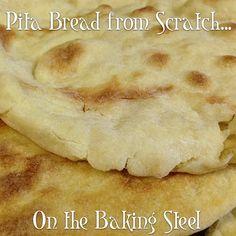 Making Pita Bread from Scratch [#Video #Recipe]