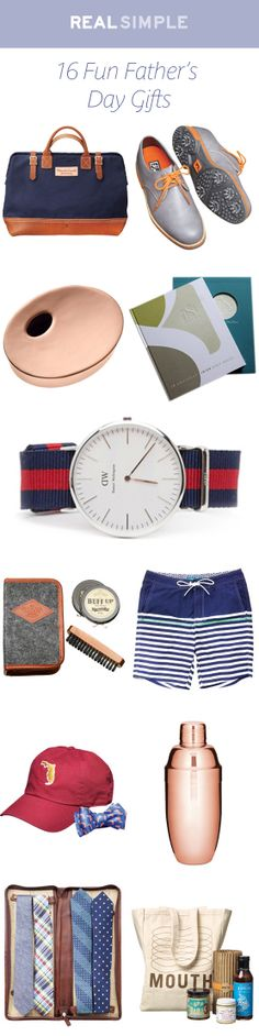 Show dear old Dad some love with these great gift ideas.
