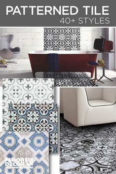 Patterned Tile From Floor Decor