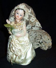 Vintage NAPCO Bride Figurine.