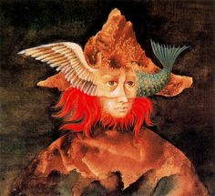 The World Beyond - Remedios Varo davidcharlesfoxexpressionism.com #remediosvaro #surrealism #surrealistart