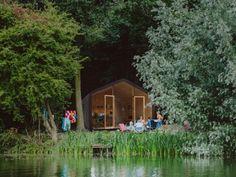 Slapen in het wikkelhouse, natuurhuisje Biesbosch | Supertrips.nl