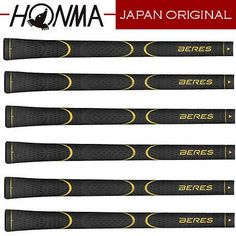 Other Golf Equipment 181155: New Original Honma Beres Golf Grip Cover 6 Set Gold M60 Wood, Irons Japan A6b90 BUY IT NOW ONLY: $199.0