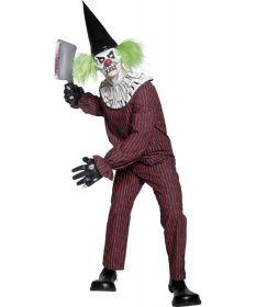 Faschingskostüm Horror Clown