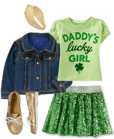 Sequin St. Patrick's Day:: St. Patrick's Day outfit inspiration for kids
