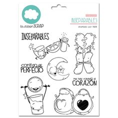 Ink Stamps, Kawaii Drawings, Lawn Fawn, Copics, Digital Stamps, Colouring Pages, Clear Stamps, Arts And Crafts, Clip Art