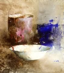 "Lars Eje Larsson/ ""Enamel Basin"" 48 x 35 cm, watercolor Watercolor And Ink, Watercolor Paintings, Original Paintings, Watercolours, Painting Still Life, Still Life Art, Guache, Art Abstrait, Painting Inspiration"