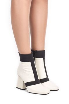 Jeffrey Campbell Shoes VICAR New Arrivals in White Black