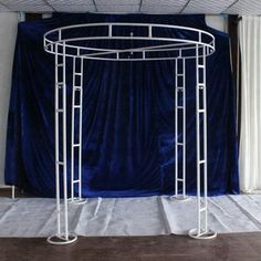 Online Shop adjustable white diameter tall double circle double upright of wedding pipe and drape pavilion for wedding arch, chuppah Decoration Buffet, Arch Decoration, Backdrop Decorations, Wedding Backdrop Design, Outdoor Wedding Decorations, Backdrop Frame, Backdrops, Wedding Mandap, Wedding Receptions