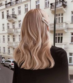 hair inspo # peinados largos, NEW DIORK # diork Peinados Pin Up, Long Bob Hairstyles, Medium Hairstyle, Casual Hairstyles For Long Hair, Female Hairstyles, Hair Medium, Hairstyles 2018, Everyday Hairstyles, Vintage Hairstyles