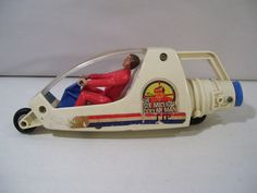 VINTAGE SIX MILLION DOLLAR MAN TURBO TOWER OF POWER DRAGSTER STEVE AUSTIN 1973…