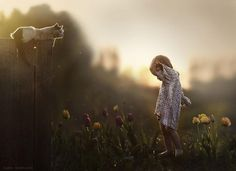 Russian Mother Takes Magical Pictures of Her Two Kids With Animals On Her Farm - Imgur