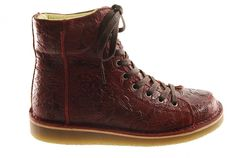 #Grünbein #shoes #boots LOUIS Print F1 Var.3 burgundy