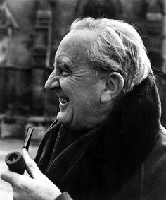 """J.R.R. TOLKIEN, circa 1981, Author of The Hobbit, and The Lord Of The Rings. Image courtesy of CSU"""""""