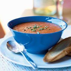 Roasted Red Pepper Soup | MyRecipes.com