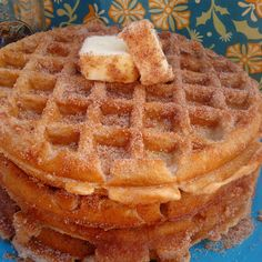 Churro Waffles - sounds like a winner to me