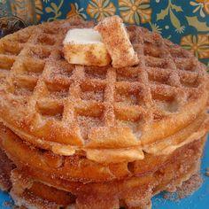 Churro Waffles - sounds like a winner to me