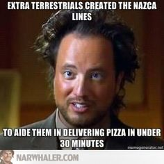 extra terrestrials created the nazca lines Ancient Aliens