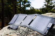 Ultra Light Solar Charger Excellent for keeping your devices charged when you're away from civilization http://amzn.to/2n3rIgF