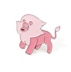 Steven Universe Lion Soft Enamel Pin by Heartificial on Etsy