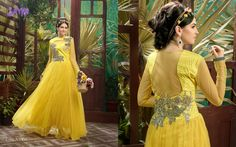 Gorgeous Semi Stitched Soft net Gowns @ 2200/- For Orders- Call or Whatsapp---8861568859 salwarstyles@gmail.com