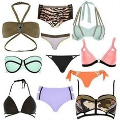 Asos swimwear mix from Asos, Hobie, Seafolly, Majestic and South Beach Spring/Summer collections.  This package comes with one and two piece swimsuits in a variety of styles, sizes and colours.  Quality: Shop Returns (Most items are new, some may have defects that can easily be repaired.  All items with individual plastic bags.).  Price is per package.  Limited availability.  Photo is for illustrative purpose only.  Restrictions on labels and sales apply.   Package price: £ 250.00 £ 200.00