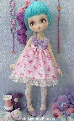 Unicorn Cake Dress | by PinkGunDollhouse
