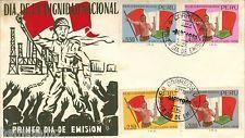 Perú 1968 Fdc Dia de la dignidad nacional