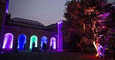 Dulwich Picture Gallery's Winterlights installation
