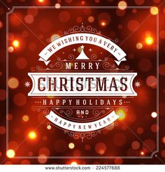 Find Christmas Retro Typographic Light Background Merry stock images in HD and millions of other royalty-free stock photos, illustrations and vectors in the Shutterstock collection. Thousands of new, high-quality pictures added every day.