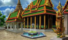 Gardens of Time | Wat Phra Kaew