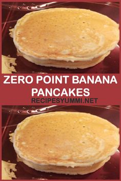Zero Point Banana Pancakes