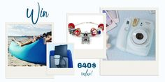 Enter to win the coolest travel accessories bundle (Total value of 640$)!