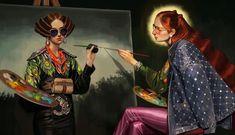 Campaña Gucci Primavera Verano 2018:   Las ilustraciones digitales  fueron diseñadas por el artista Ignasi Monreal .   Dirección creat...