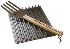 These grates are what you need to get real grilling done right. A must have for BBQ enthusiasts. Chrismas Wishes, Grill Grates, Smoke Art, Family Christmas, Christmas Ideas, Tech Accessories, Barbecue, Garden Tools, Home And Garden