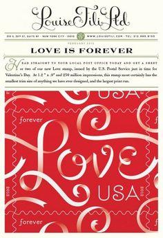 Love typography Louise Fili