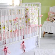 Lilly Bedding but, in toddler size!  Love Song Girls Bedding