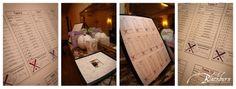 Blackburn Portrait Design Wedding and Portrait Photography www.susanblackburn.biz Franklin Plaza Ballroom Baseball Themed Wedding Baseball Seating Chart