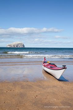 This one's a bit outside Edinburgh - the Bass Rock from Seacliff beach