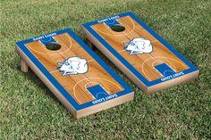 Saint Louis University Billikens Cornhole Game Set Basketball Version