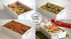 Patlıcanlı Yoğurtlu Ekmek Kebabı Wine Recipes, Cooking Recipes, Homemade Beauty Products, Ricotta, Food Art, Food And Drink, Health Fitness, Meals, Breakfast